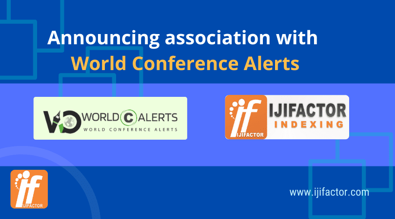 Announcing association with World Conference Alerts