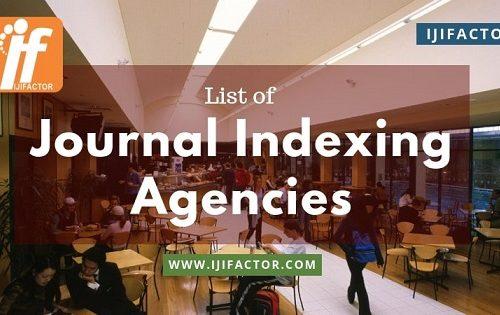 Journal indexing agencies