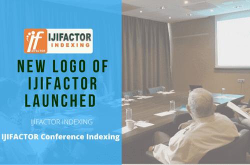 New IJIFACTOR logo Launched